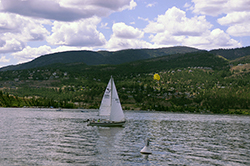 Lake Okanagan is a great venue for many enjoyable activities